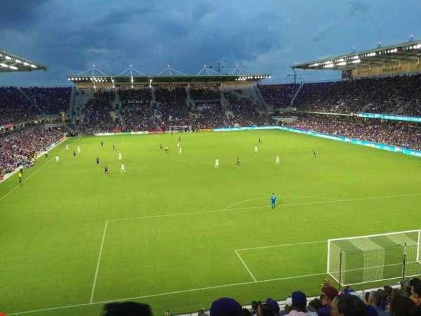 Orlando City Stadium, sección: 105, fila: L, asiento: 19