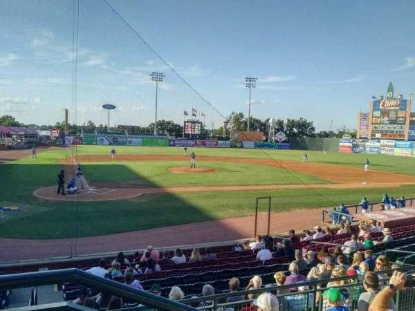 Whitaker Bank Ballpark, sección: 204, fila: 5, asiento: 1