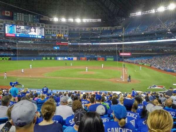 Rogers Centre, sección: 125R, fila: 31, asiento: 12
