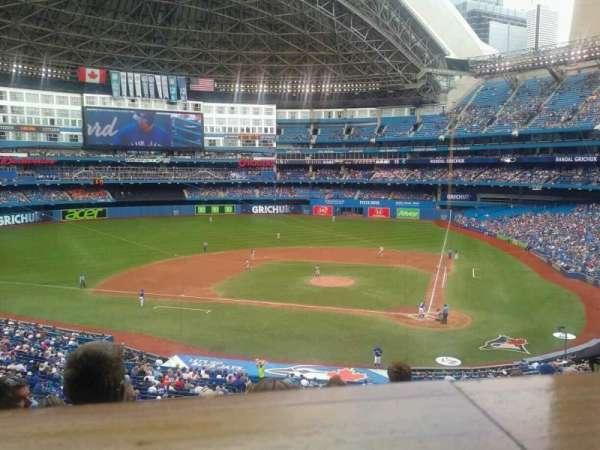 Rogers Centre, sección: 227R, fila: 10, asiento: 4