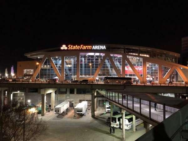State Farm Arena, sección: Exterior
