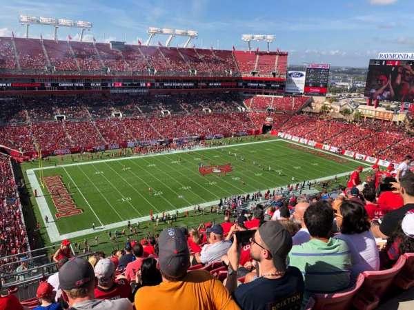 Raymond James Stadium, sección: 331, fila: N, asiento: 1