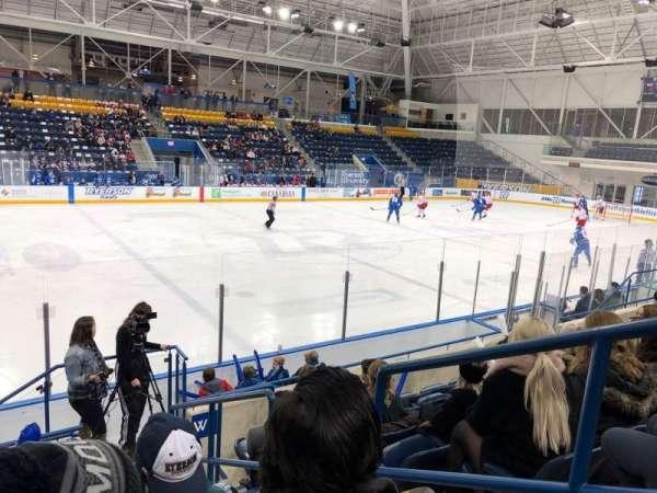 Mattamy Athletic Centre at the Gardens, sección: W6, fila: G, asiento: 2