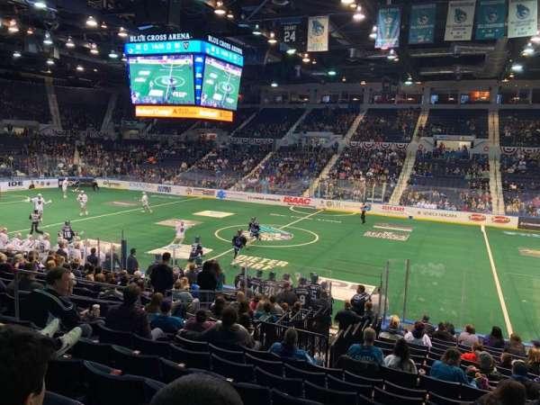 Blue Cross Arena, sección: 125, fila: Q, asiento: 5