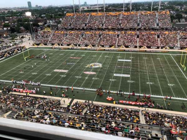 Tim Hortons Field, sección: Press Box