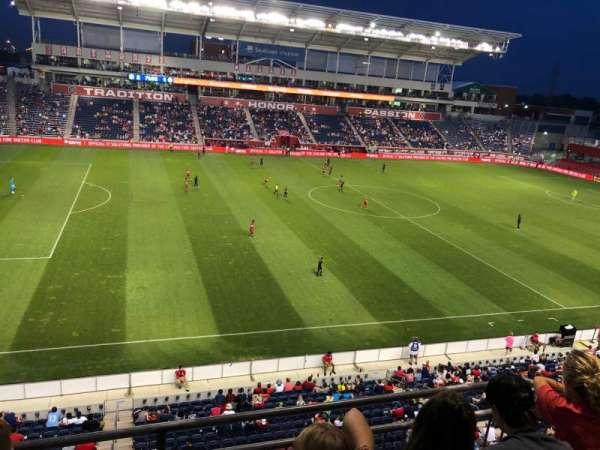 SeatGeek Stadium, sección: 209, fila: 3, asiento: 9