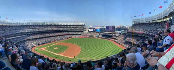 Yankee Stadium, sección: 313, fila: 8, asiento: 9