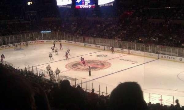 Madison Square Garden, sección: 328, fila: j, asiento: 5