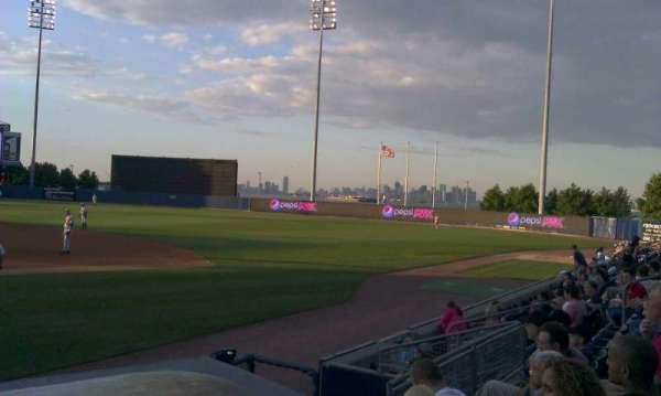 Richmond County Bank Ballpark, sección: 13, fila: g, asiento: 15