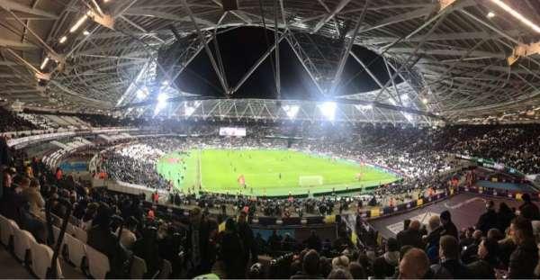 London Stadium, sección: 219, fila: 51, asiento: 83
