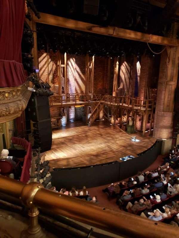 CIBC Theatre, sección: Mezzanine L, fila: A, asiento: 15