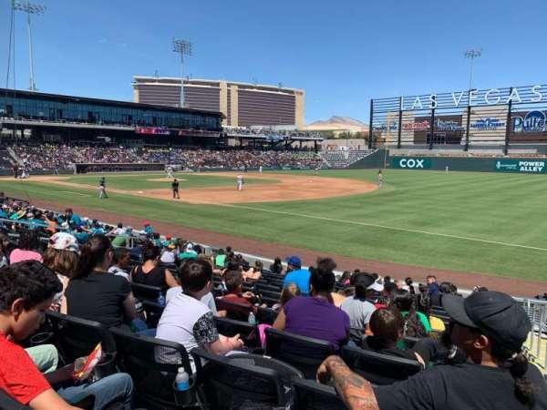 Las Vegas Ballpark, sección: 104, fila: N, asiento: 19-20