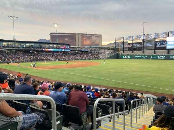Las Vegas Ballpark, sección: 102, fila: R, asiento: 1-6