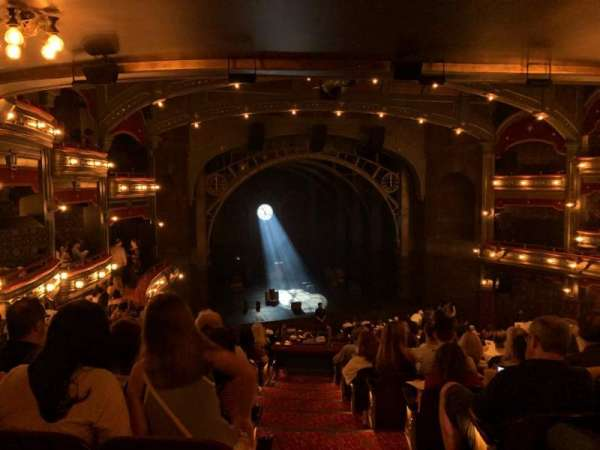 Lyric Theatre, sección: Dress Circle L, fila: K, asiento: 1