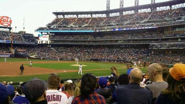 Citi Field, sección: 124, fila: 12, asiento: 8