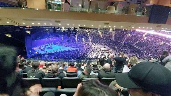 Madison Square Garden, sección: 223, fila: 19, asiento: 15