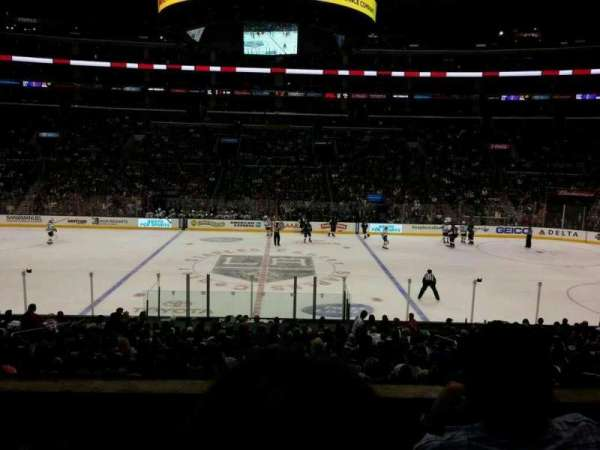Staples Center, sección: PR14, fila: 3, asiento: 5