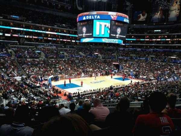 Staples Center, sección: PR17, fila: 9, asiento: 10