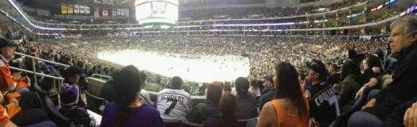 Staples Center, sección: PR11, fila: 8, asiento: 9