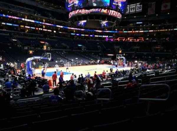 Staples Center, sección: 104, fila: 15, asiento: 6