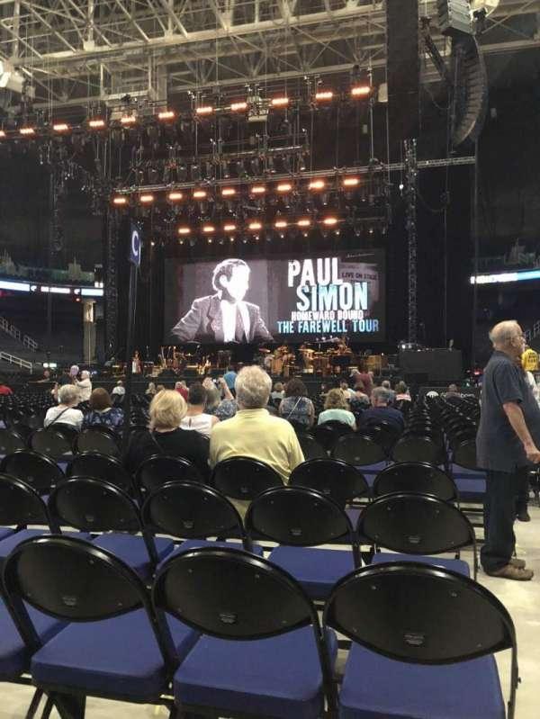 Greensboro Coliseum, sección: Floor C, fila: 25, asiento: 12