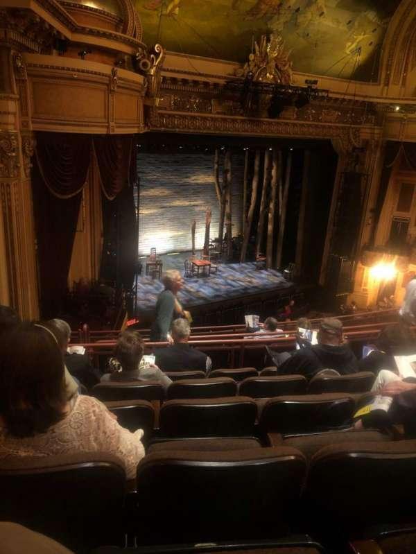 Hippodrome Theatre, sección: Left Middle Balcony, fila: J, asiento: 231