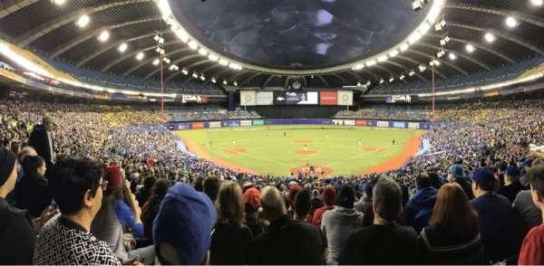 Olympic Stadium, Montreal, sección: 406, fila: A, asiento: 5