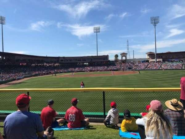 BayCare Ballpark, sección: Berm