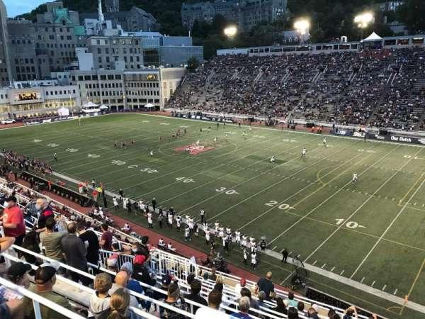 Percival Molson Memorial Stadium, sección: Q2, fila: 13, asiento: 16