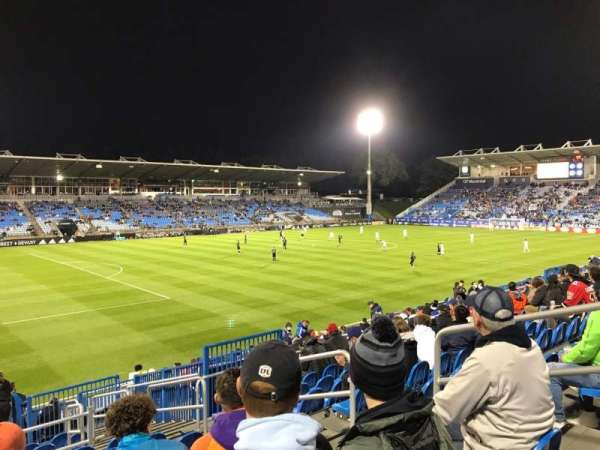 Saputo Stadium, sección: 127, fila: S, asiento: 6