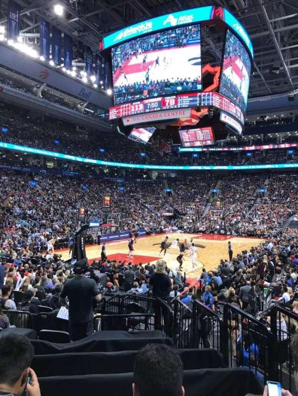 Scotiabank Arena, sección: 112, fila: 12, asiento: 4