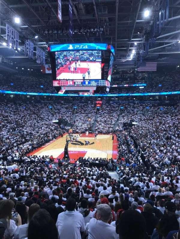 Scotiabank Arena, sección: 102, fila: 26, asiento: 7