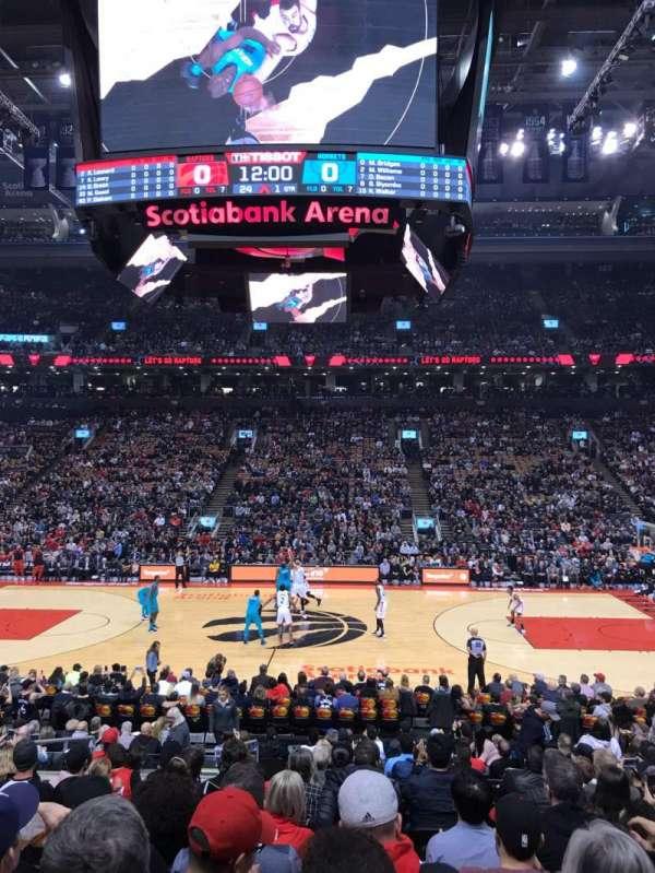 Scotiabank Arena, sección: 108, fila: 17, asiento: 7
