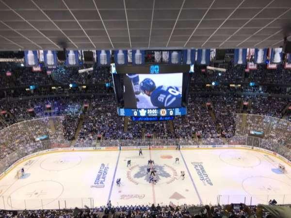 Scotiabank Arena, sección: 321, fila: 14, asiento: 17