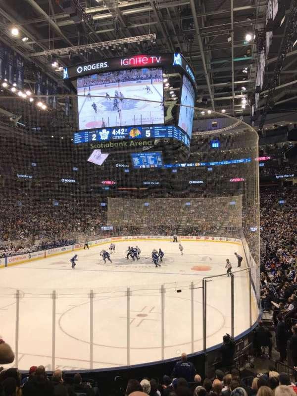 Scotiabank Arena, sección: 112, fila: 16, asiento: 17