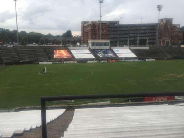 American Legion Memorial Stadium, sección: 14, fila: CC, asiento: 3