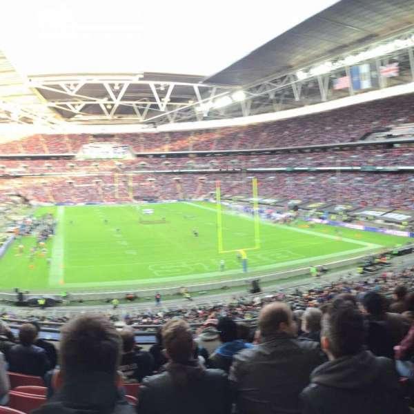 Wembley Stadium, sección: 241, fila: 7, asiento: 50