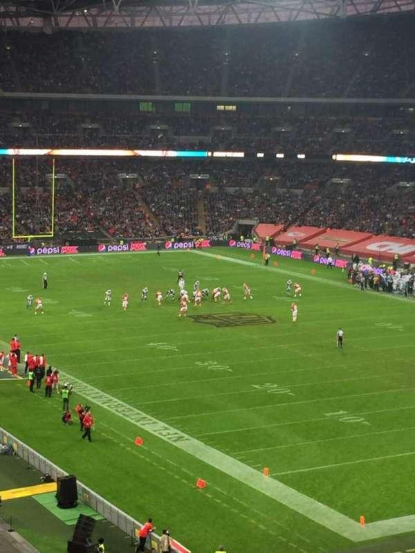 Wembley Stadium, sección: 244, fila: 16, asiento: 178