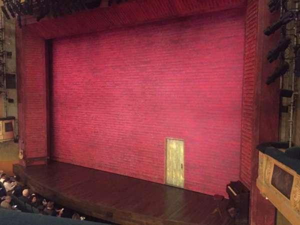 Shubert Theatre, sección: Mezzanine R, fila: A, asiento: 14
