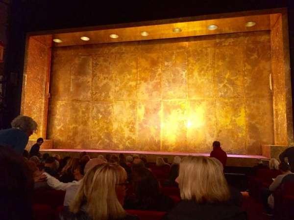 Cort Theatre, sección: Orchestra C, fila: L, asiento: 112