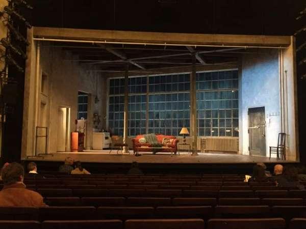 Hudson Theatre, sección: Orchestra C, fila: N, asiento: 107