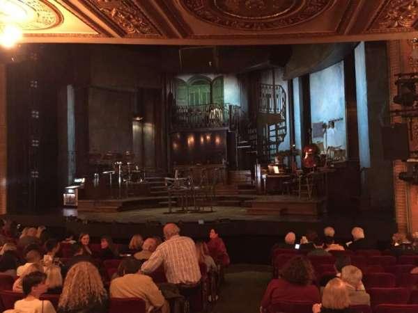 Walter Kerr Theatre, sección: Orchestra R, fila: O, asiento: 8