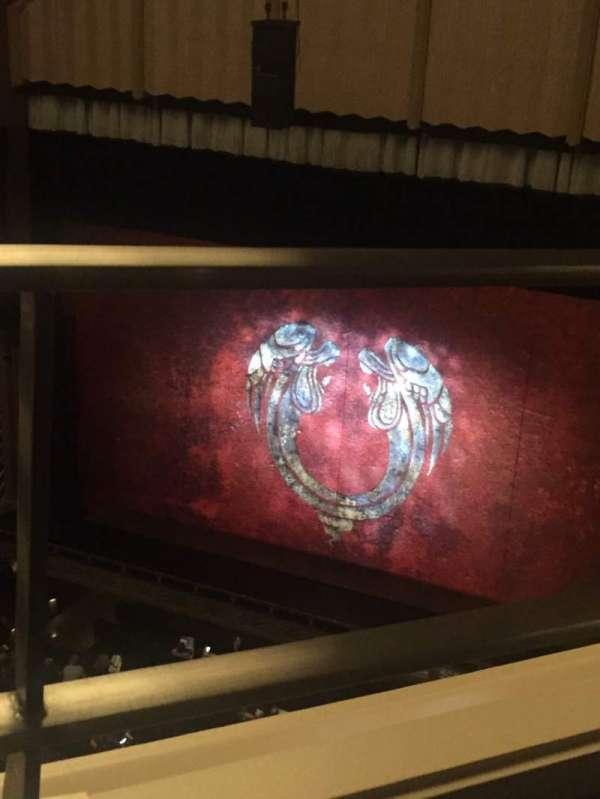 Reynolds Hall at The Smith Center, sección: Balcony, fila: A, asiento: 242
