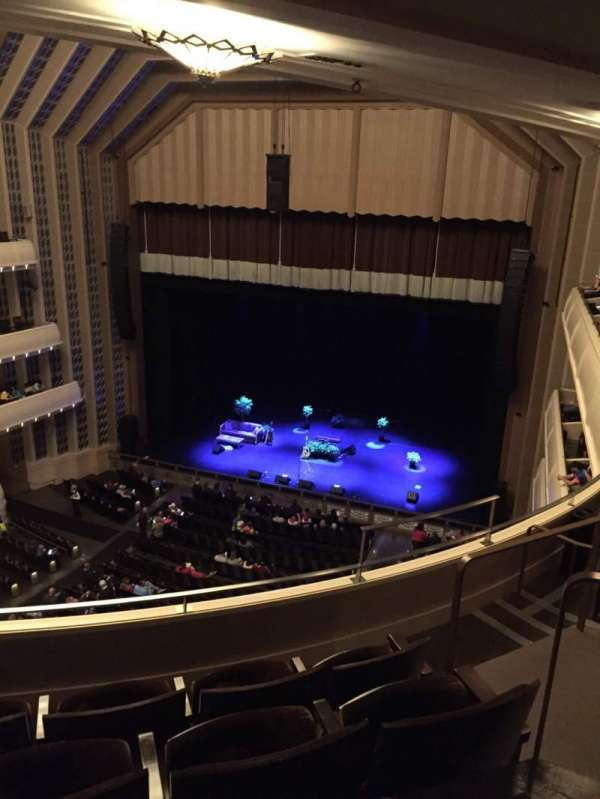 Reynolds Hall at The Smith Center, sección: Right Gallery, fila: D, asiento: 309