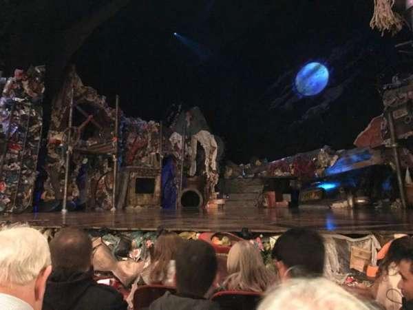 Neil Simon Theatre, sección: Orchestra R, fila: E, asiento: 8