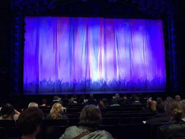 Marquis Theatre, sección: Orchestra C, fila: K, asiento: 108