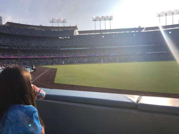 Dodger Stadium, sección: 50FD, fila: A, asiento: 4