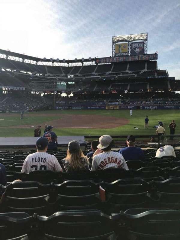 Citi Field, sección: 112, fila: 10, asiento: 13