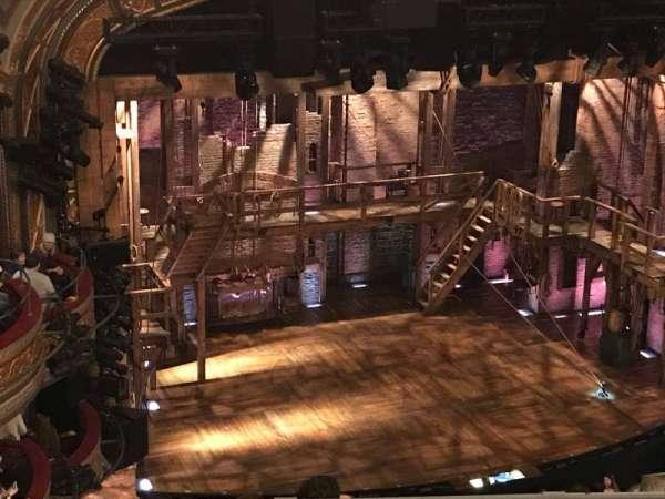 Richard Rodgers Theatre, sección: Rear Mezz, fila: D, asiento: 25