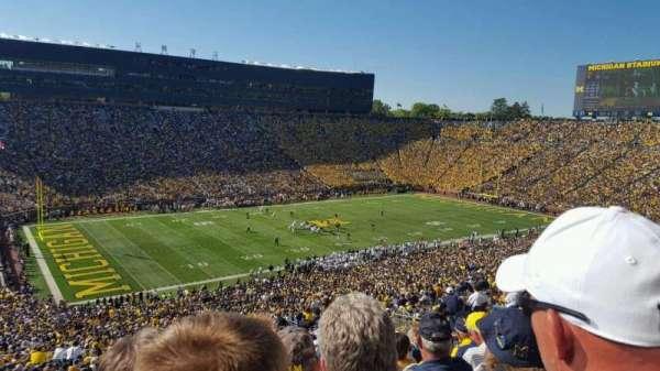Michigan Stadium, sección: 5, fila: 86, asiento: 3